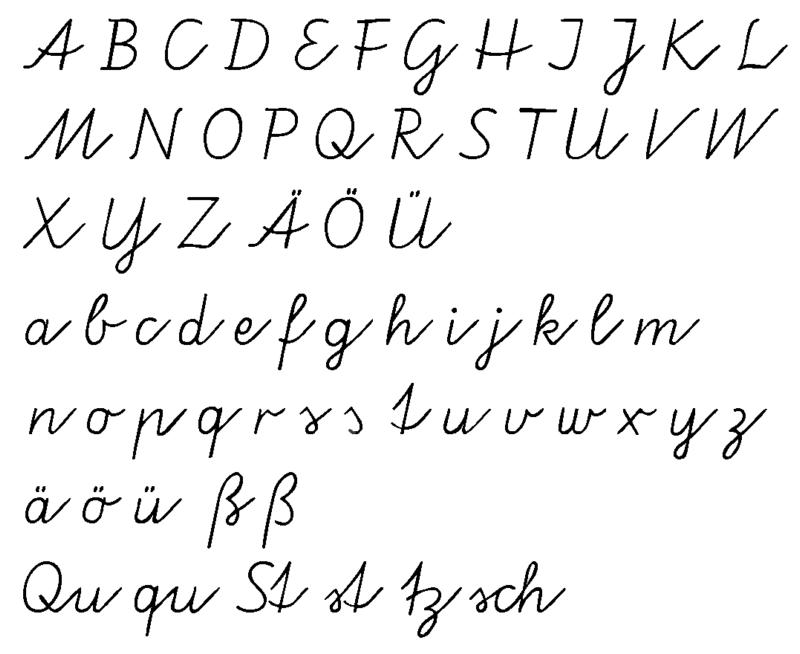 Ziemlich Alphabet Anerkennung Einer Tabelle Für Den Kindergarten ...